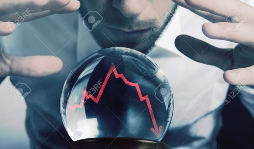 16498284-Concept-of-forecasts-of-the-financial-crisis-Stock-Photo-forecast-economy-economic