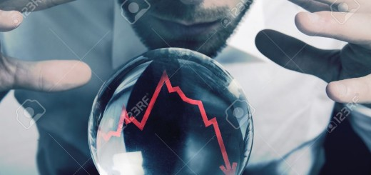 16498284-Concept-of-forecasts-of-the-financial-crisis-Stock-Photo-forecast-economy-economic